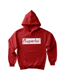 Superlui Hoodie Fire Red